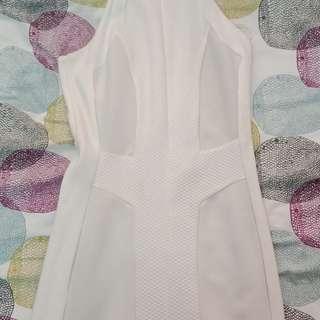 Zara Racerback dress with side cutouts