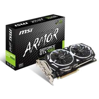 MSI ARMOR GTX1060 3GB Graphic Card