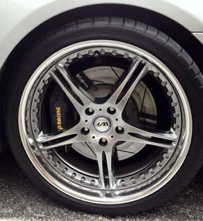 SSR Werfen GT-03- 3 Piece Wheels. BMW E60,F10