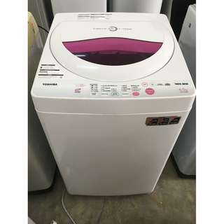 Toshiba Washing Machine 6.5kg Mesin Basuh Recond