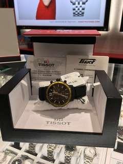 全新Tissot錶天梭錶膠帶 運動款 行貨 禮物之選 生日 紀念日