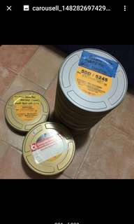 film cans and short ends