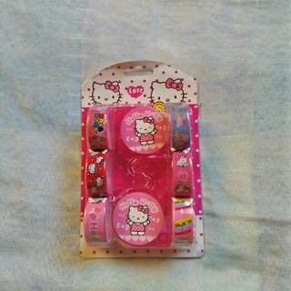 Hello Kitty Tapes with Tape Dispensers