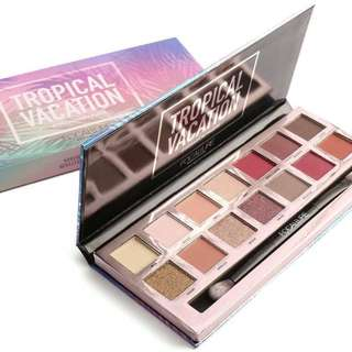 Focallure 14 Colors Eyeshadow Palette (Tropical Vacation / Everchanging)