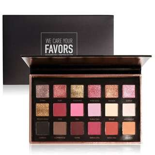 Focallure 18 Colors Eyeshadow Palette (Bright Lux / Neutrals)
