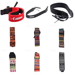 DSLR Camera Hand and Neck Strap