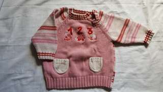 Girl's knitted top #20under