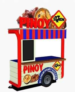 Buy 1 get 1 food cart