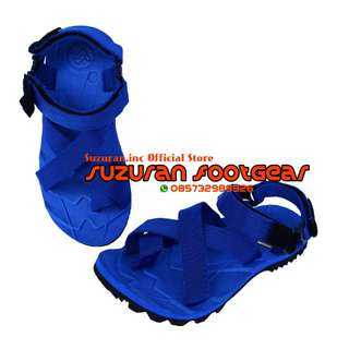 SUZURAN SANDAL GUNUNG THUMB MR1 FULL BLUE
