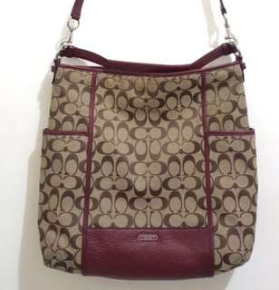 Coach 2 way shoulder bag