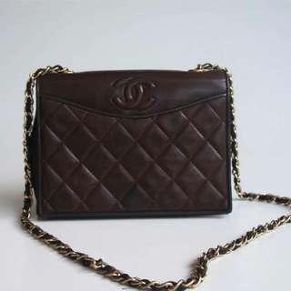 Chanel Vintage Lambskin Ghw#1