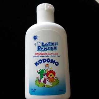 Free - Kodomo Baby Lotion Powder