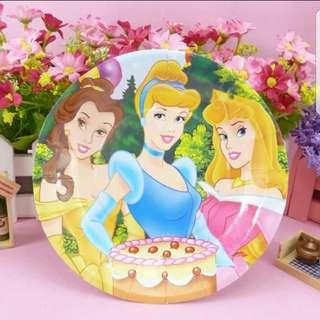 "Disney Princess 7"" Party Plates"