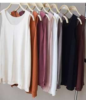 Bnew knit tops