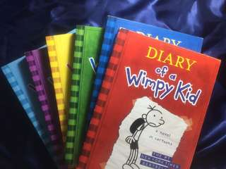 Diary of a Wimpy Kid Set Books 1 to 6