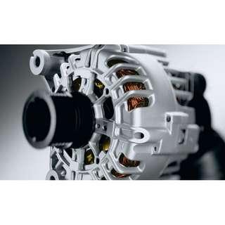 BMW electric alternator