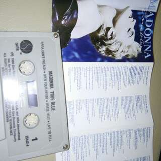 Madonna True Original SINGAPORE Cassette  Tape