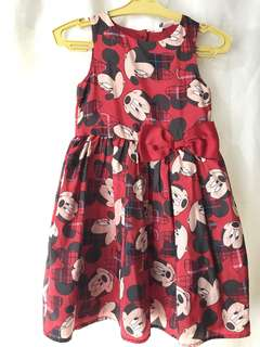 H&M Mickey Mouse Dress - Almost Brand New