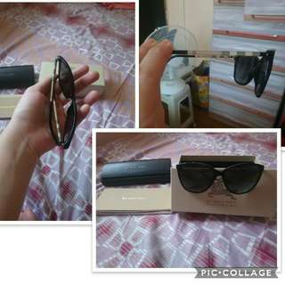 Burberry Polarized Black Sunglasses