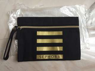 Sephora black clutch