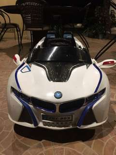 Rechargeable BMW toy car for kidd