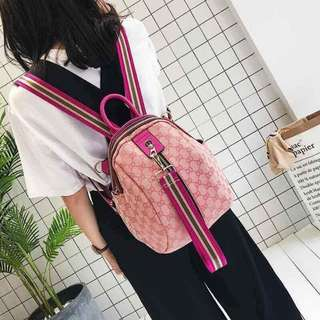 K-Backpack 2way Pink Prints