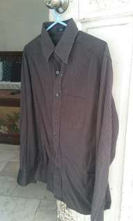 Gap Pinstripe Men's fitted polo (XS)