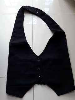 Rompi hitam free size