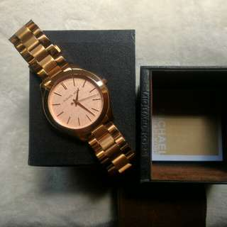 Michael Kors MK 3336 Rose Gold Watch (Authentic)