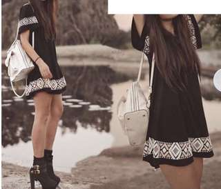 BNEW Patterned Tunic