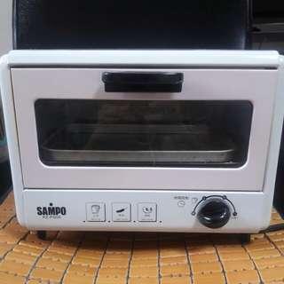 聲寶電烤箱-6L