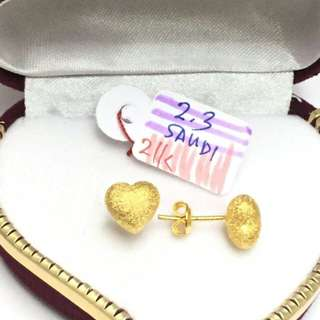 18k earings for her ♥