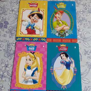 Cute Wall Disney MRT Card