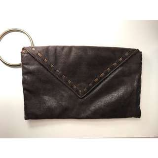 Matt & Nat Vintage Inspired Vegan Leather Envelope Clutch