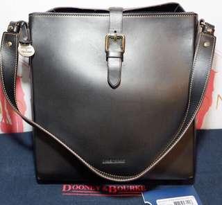 Good as new! Dooney & Burke unisex genuine leather bag