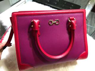 Brand new Ferragamo hand carry w sling