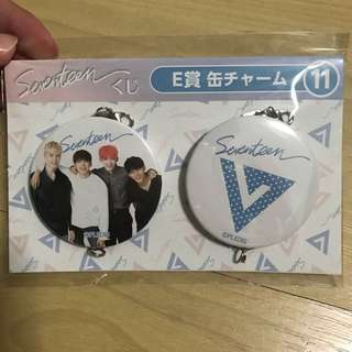 [INSTOCK] SEVENTEEN JAPAN HMV LAWSON KUJI BADGE SET