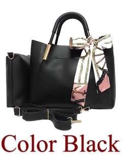 MK Handbag with FREE pouch & scarf