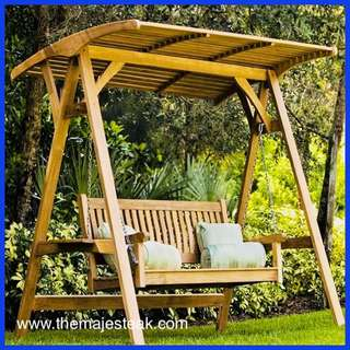 Zent Outdoor Teak Swing - Majesteak