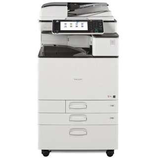 Used Ricoh Aficio MP C2503SP Colour Photocopier, Print, Scanner Machine Office