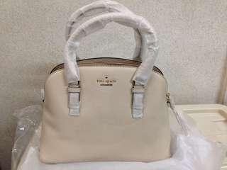 Kate Spade Jackson Street Lottie leather hand bag purse