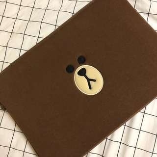 Line Friends Laptop Sleeve- Notebook Zipper Case Bag
