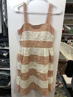 Loft Eyelet Summer Dress - Preloved, Excellent Condition