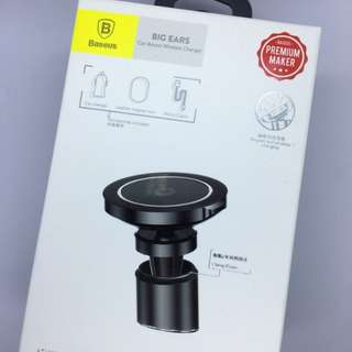 Baseus Car Mount Wireless Charger