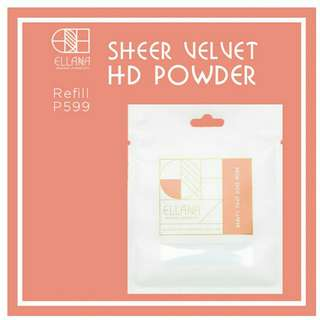 [Free shipping!] Ellana Sheer Velvet HD Powder