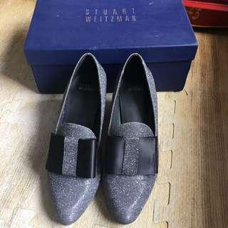 Stuart Weitzman ribbon heels