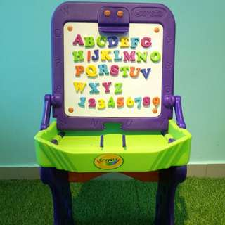Crayola table free ABC magnets