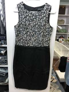 Esprit Floral Fitted Dress - Preloved, Excellent Condition