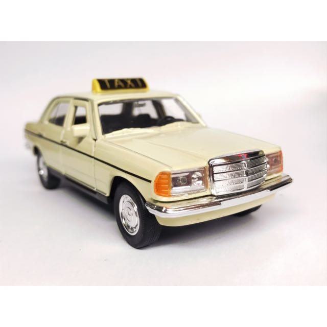 1:40 Benz 230E Germany Taxi 復古德國的士