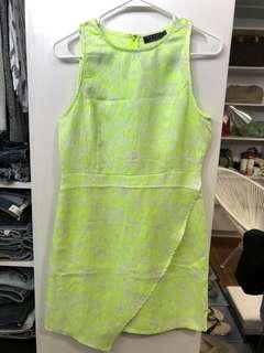 Ezra Fashion Neon Dress - Preloved, Excellent Condition